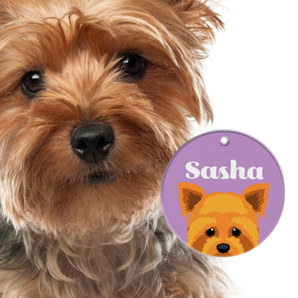 Yorkshire Terrier | Best In Breed Bashtags® | Personalized Dog Tags by Blank Sheet