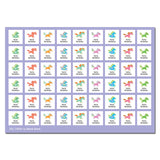 My Labels™ Chic & Fun Iron-on Fabric Name Labels Assorted