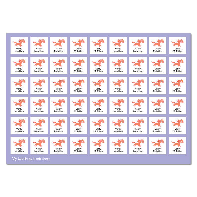 My Labels™ Chic & Fun Iron-on Fabric Name Labels