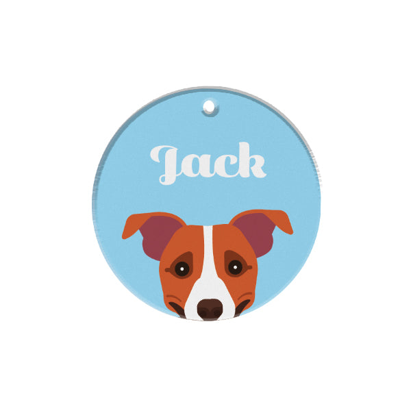 Jack Russell Terrier | Personalized Dog Tags by Blank Sheet