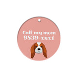 King Charles Spaniel | Personalized Dog Tags by Blank Sheet