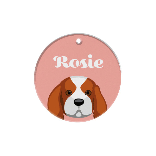 King Charles Spaniel | Bashtags® | Personalized Dog Tags by Blank Sheet