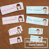 Digital-printing name labels