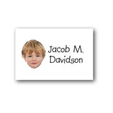 Just name with photo bag tag