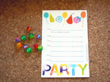 Kiddy Collection™ Party Stationery - Party Balloons