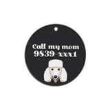 Poodle | Best in Breed Bashtags® | Personalized Dog Tags by Blank Sheet