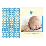 Lattice Board Rat | Birth Announcements by Blank Sheet