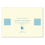 Double Rats Lattice | Birth Announcements by Blank Sheet