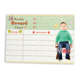 Reward Chart Cottage Green | Blank Sheet