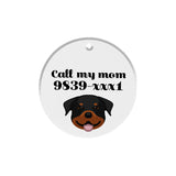 Rottweiler | Best In Breed Bashtags® | Personalized Dog Tags by Blank Sheet