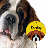 Saint Bernard | Best In Breed Bashtags® | Personalized Dog Tags by Blank Sheet