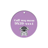 Schnauzer | Best In Breed Bashtags® | Personalized Dog Tags by Blank Sheet
