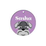 Schnauzer | Personalized Dog Tags by Blank Sheet