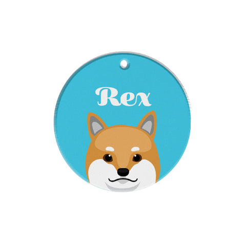 Shibainu | Personalized Dog Tags by Blank Sheet