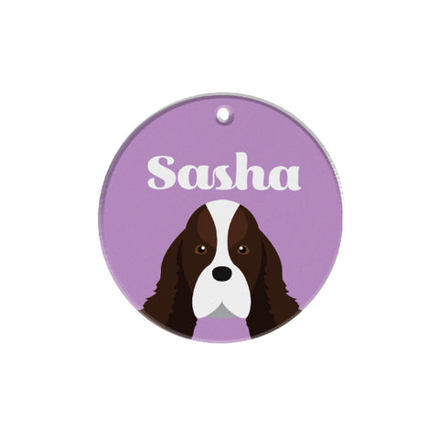 Springer Spaniel | Personalized Dog Tags by Blank Sheet