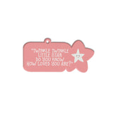Inspiring Quote Bag Tag | Blank Sheet