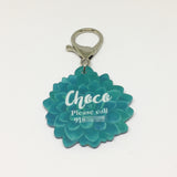 Mexican Rose - Blooms & Blossoms Pet ID Tag