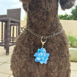 Blue Lotus - Blooms & Blossoms Pet ID Tag