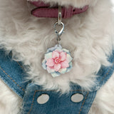 Powder Puff - Blooms & Blossoms Pet ID Tag