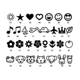 Sewing label available icons
