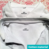 DIY textile marker - cotton uniform