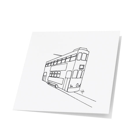 Tram Note Cards