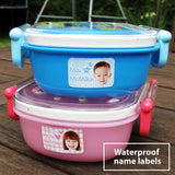 Waterproof name labels
