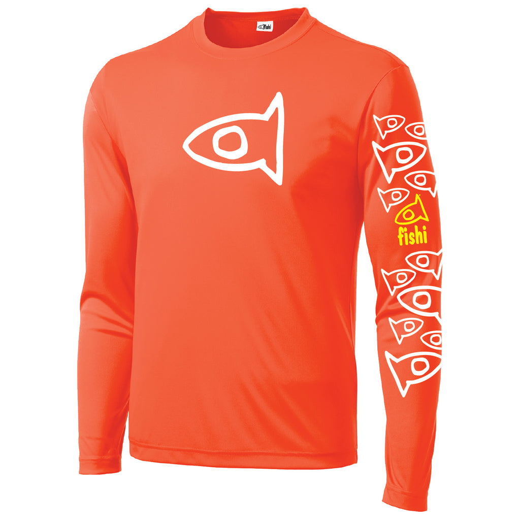 Adult Swim Shirt Orange Pat