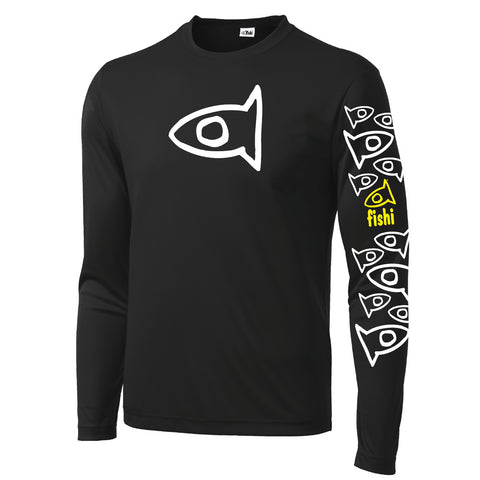 Adult Swim Shirt Black Pat
