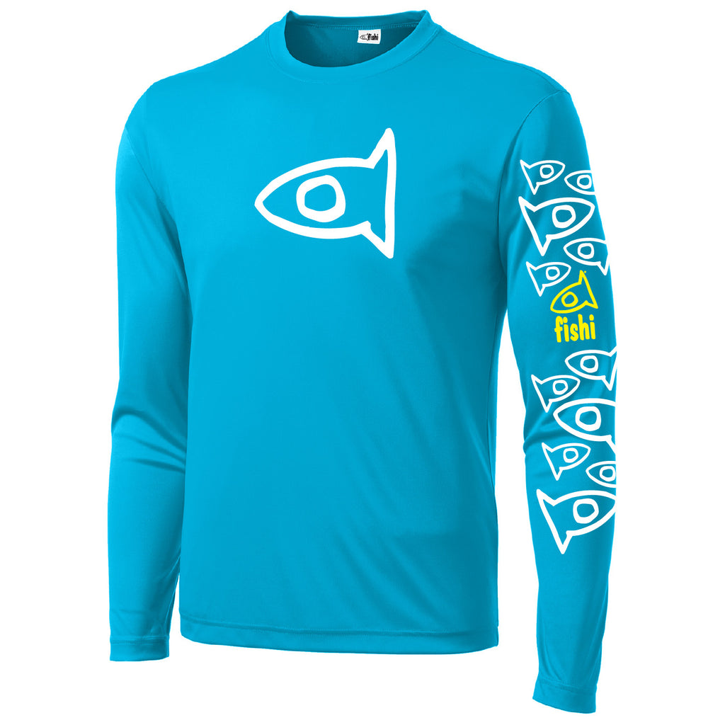 Adult Swim Shirt Atommic Blue Pat