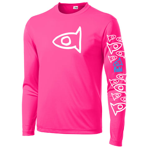 Adult Swim Shirt Hot Pink Pat