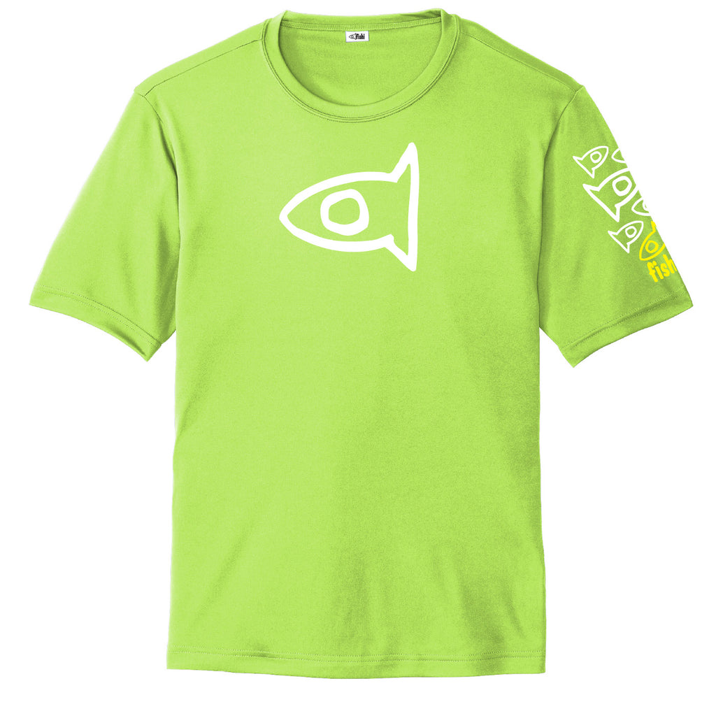 Adult S/S Lime Pat