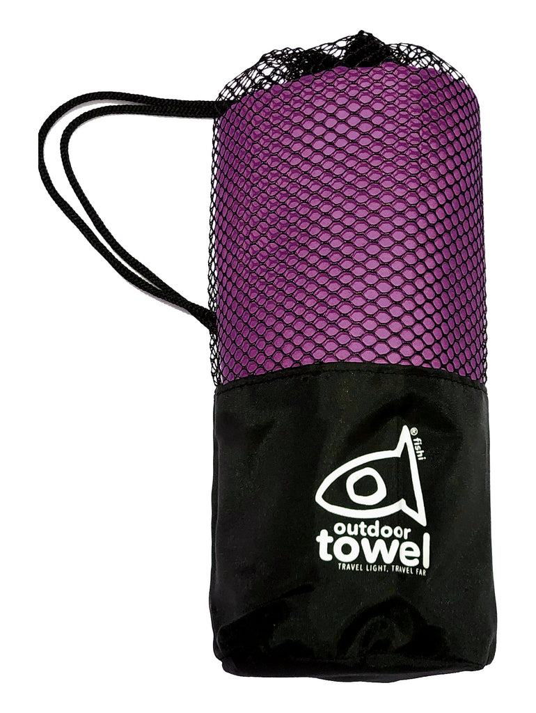 Microfiber Towel - Purple