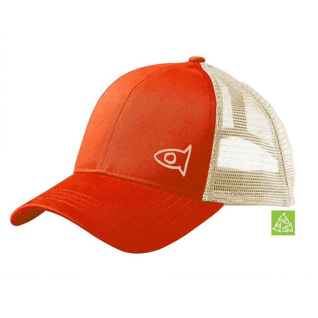 Eco Hat Orange / Oyster