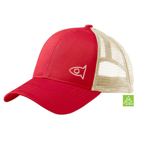 Eco Hat Red / Oyster