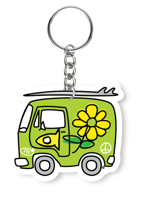 Key Chain Fishi's Green Van