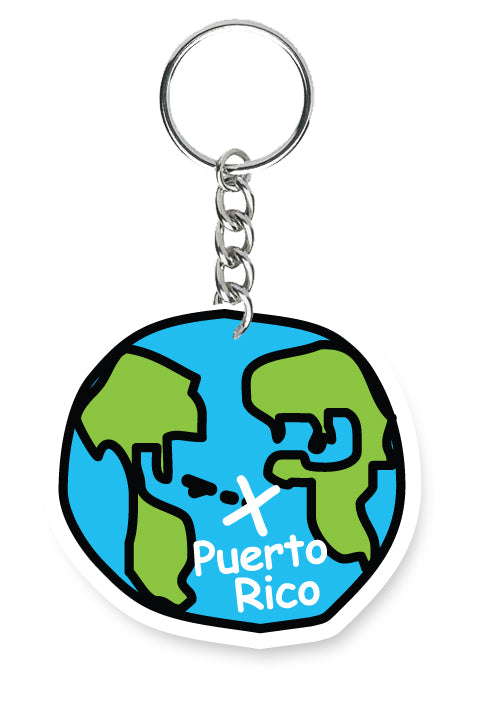 Key Chain From Here PR