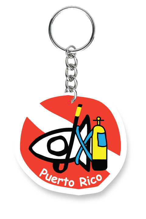 Key Chain PR Scuba Fishi