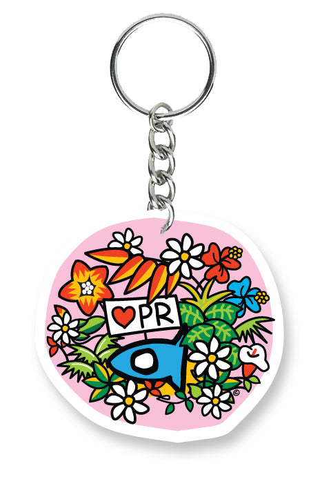 Key Chain Tropical Fishi
