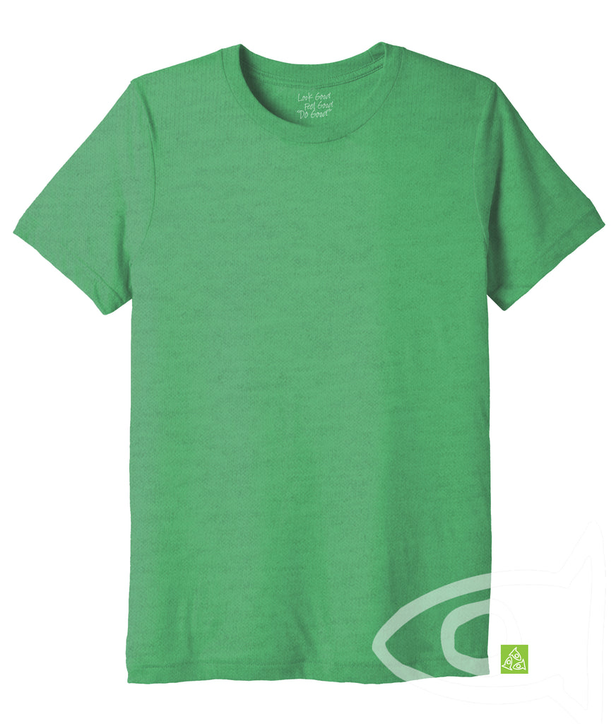 Adult Eco Green Crew T-shirt