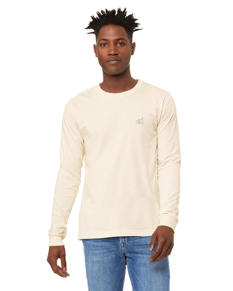 Natural White -L/S Embro