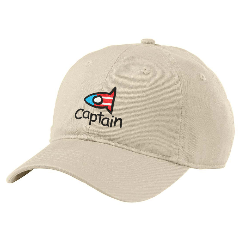 Captain Fishi Dad cap