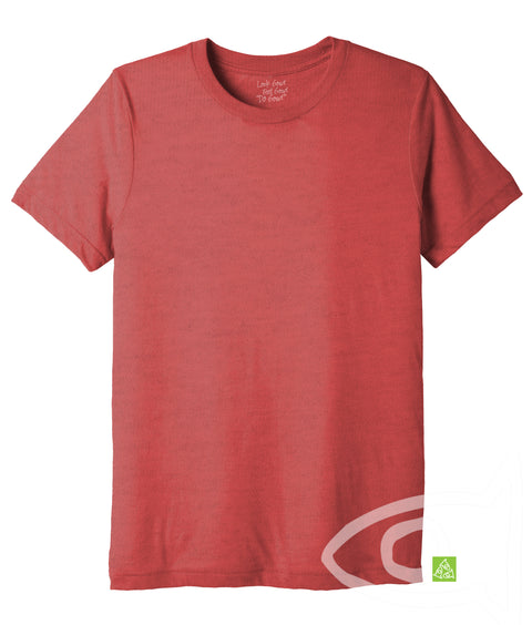 Adult Eco Red Crew T-shirt