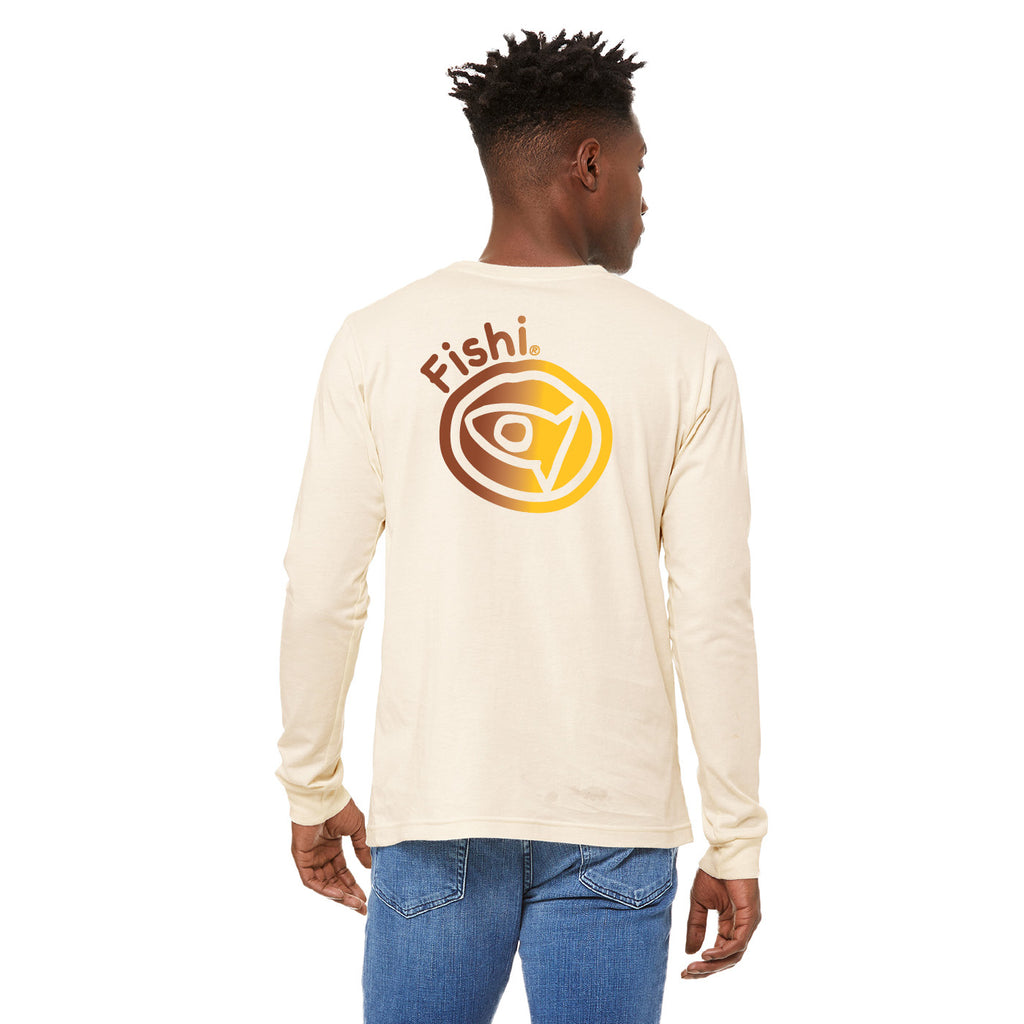 Long-Sleeve Unisex Vintage White