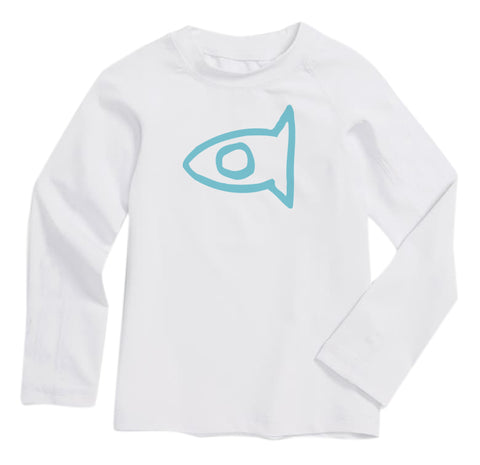 Toddler Rashguard - White