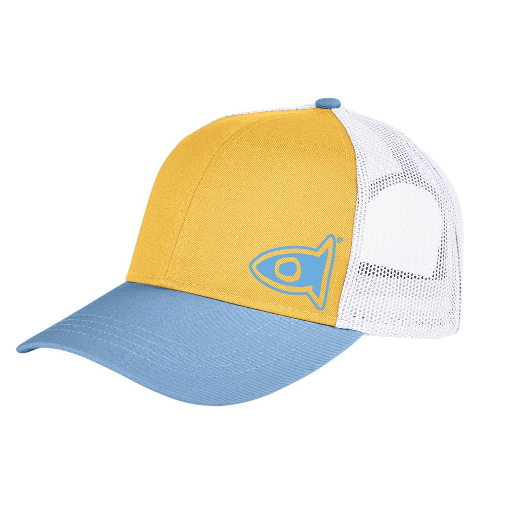 Trucker Cap Light Mustard / Bay / White