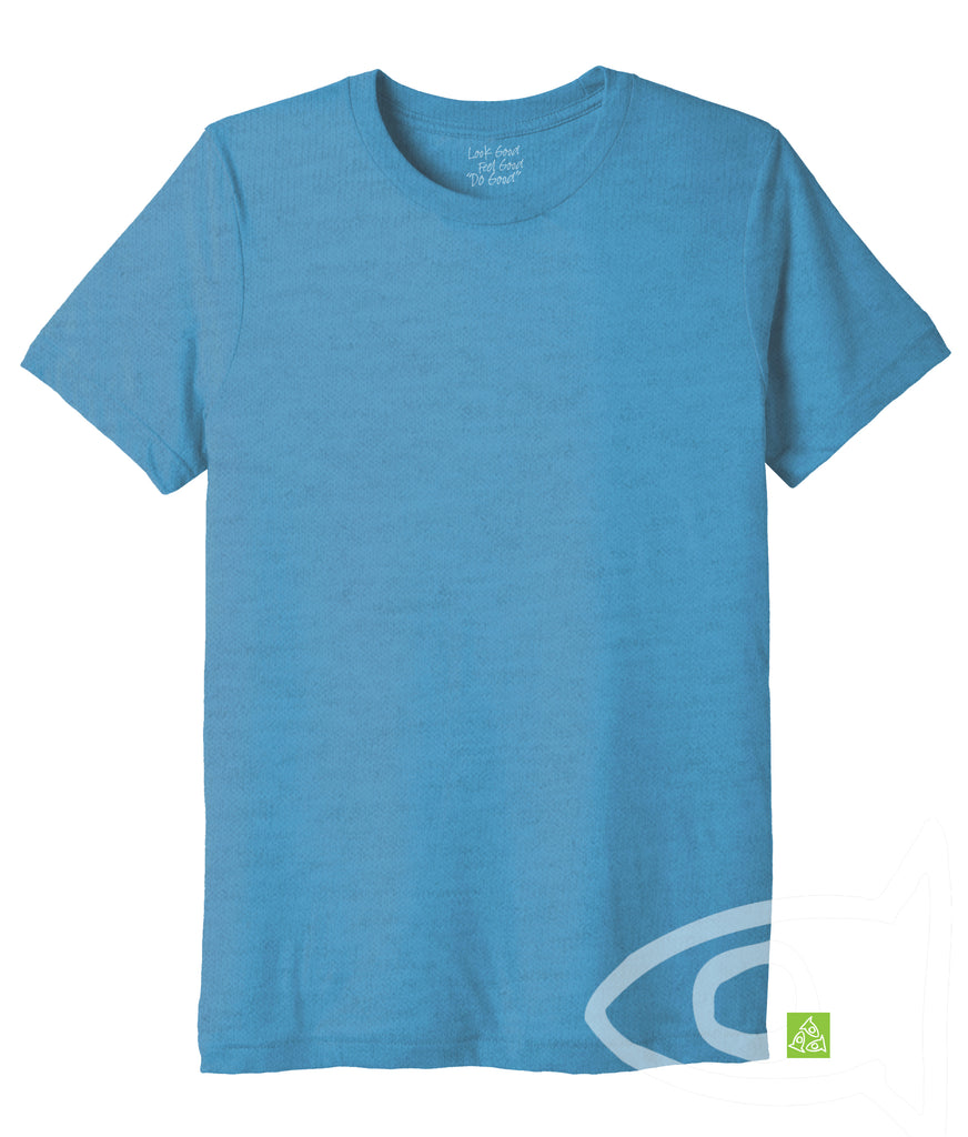 Adult Eco Aqua Crew T-shirt