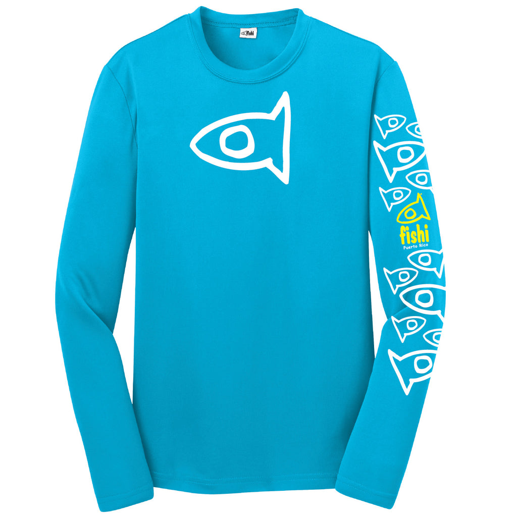 Youth Atommic Blue Sleeve Pattern