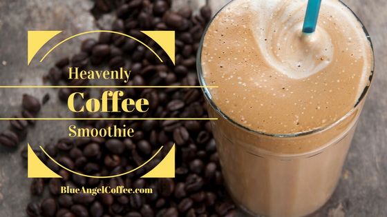 Heavenly Coffee Smoothie you can't live without