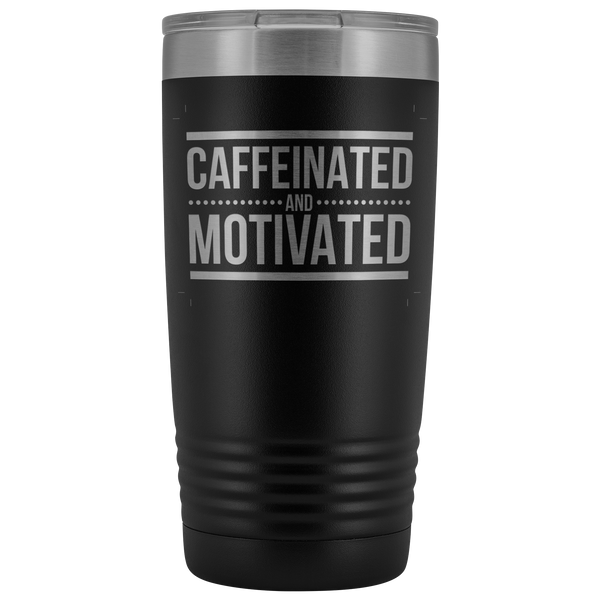 Caffeinated and Motivated V2 - Blue Angel Coffee